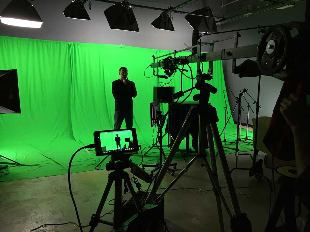 studio green screen